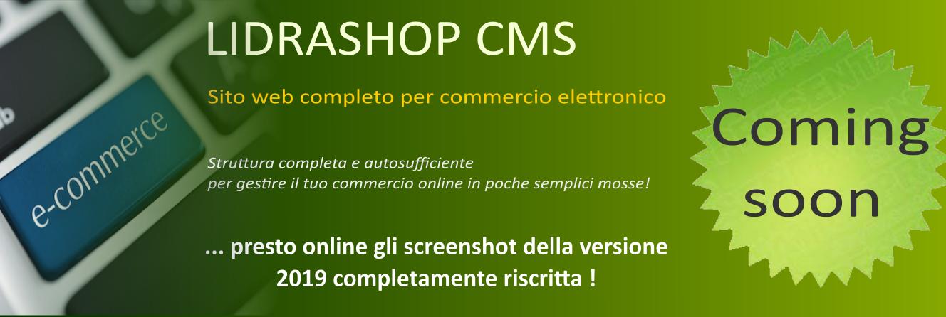 LIDRASHOP CMS