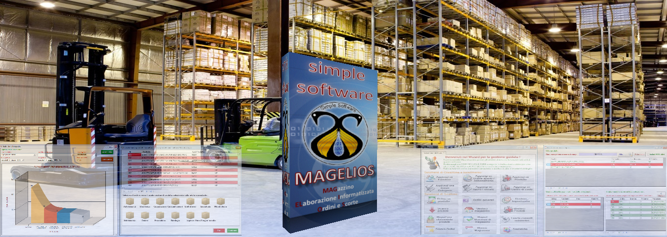 MAGELIOS, software gestionale per la gestione magazzino e ordini
